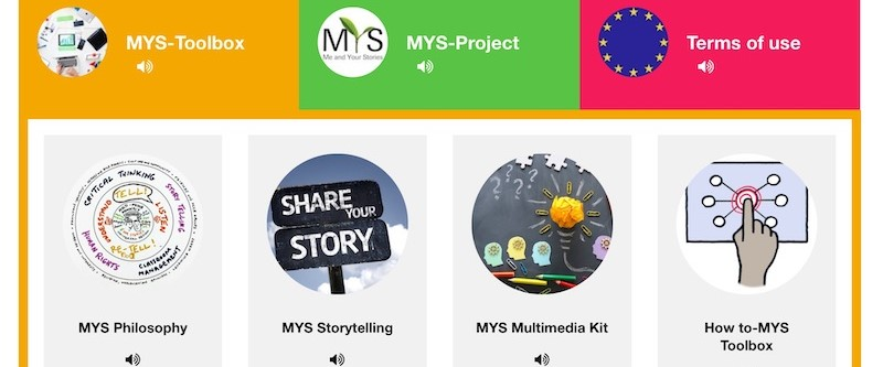 Me and Your Stories - digital Storytelling anhand der MYS-Toolbox
